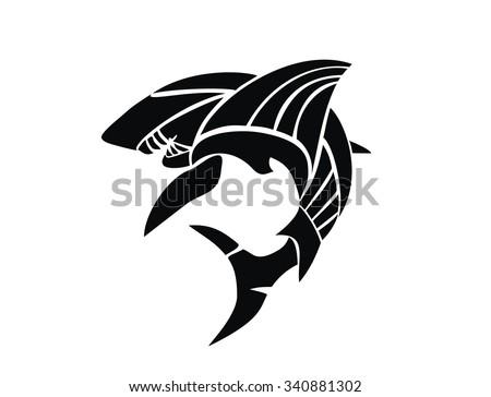 Shark tattoo stock photos royalty free images amp vectors