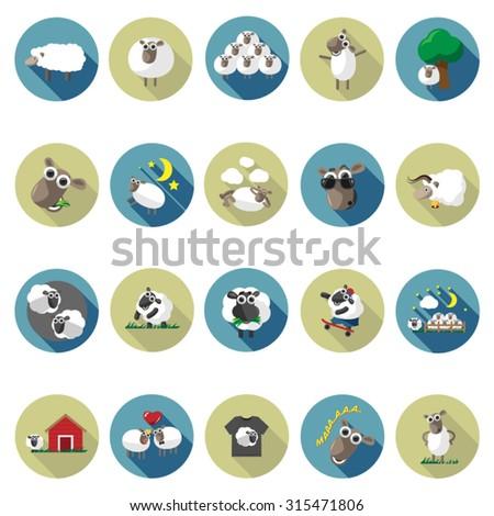 Lamb Sleeping Cartoon Stock Photos Images Royalty Free