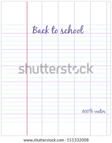 sheet graph paper large cell stock photo photo vector