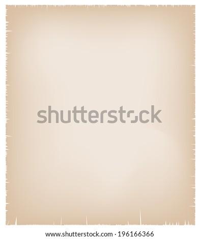 Sheet of old paper. Vector.  - stock vector