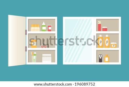 Bath supplies hygiene accessories cosmetics hair stock for Bathroom design and supply