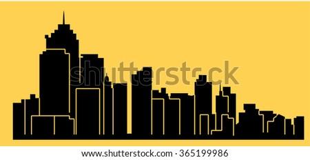 Shenyang, China - stock vector