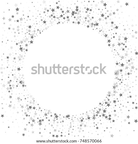 Sparkling pattern stock images royalty free images vectors shimmering stars confetti frame on white sky greeting card wedding invitation template background stopboris Images