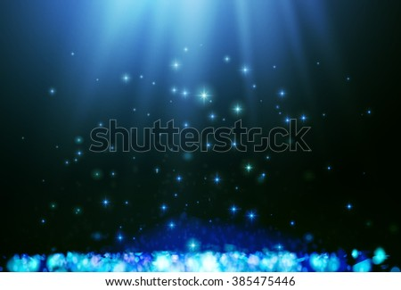Shining blur bokeh background for your design. Vector illustration