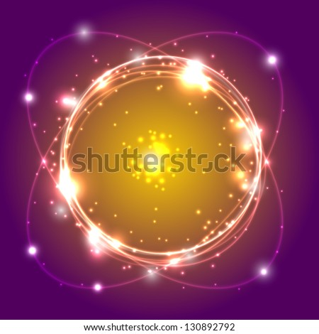 Shiny abstract background - stock vector