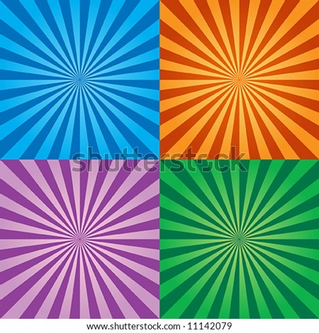 shiny backgrounds - stock vector