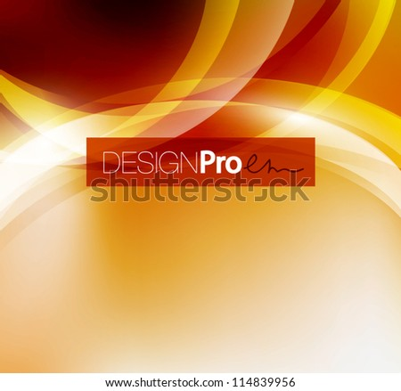Shiny circles abstract background - stock vector