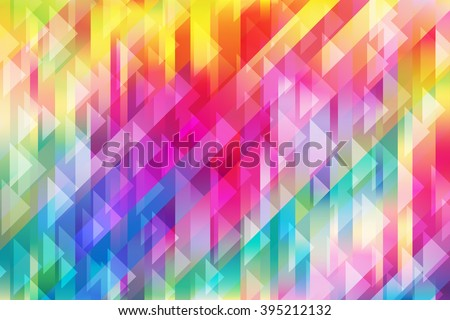 Shiny colorful mesh background with triangles and diagonal lines