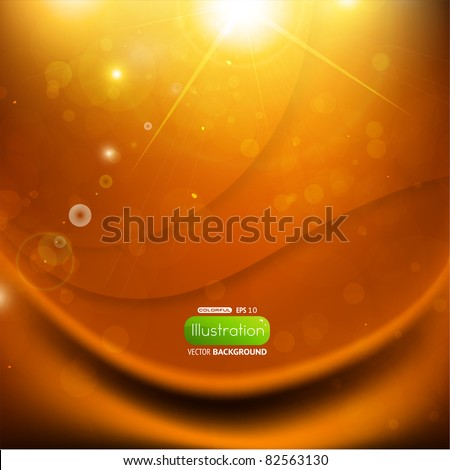 Shiny eps10 background - stock vector
