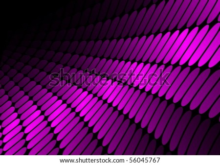 Shiny techno pink vector illustration - stock vector