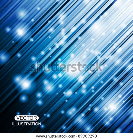 Shiny vector abstract background - stock vector