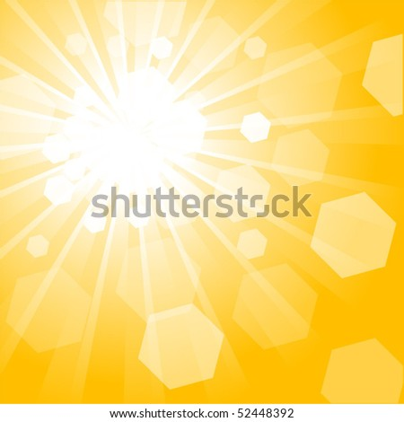 Shiny Vector Background - stock vector