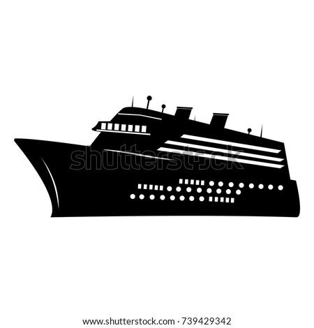 cruise ship logo stock images royaltyfree images