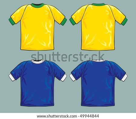 Shirt theme - stock vector