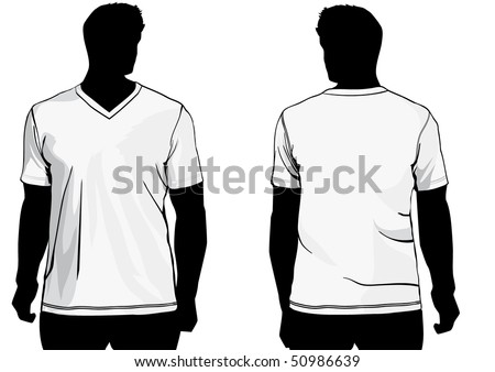 Shirt with v-neck