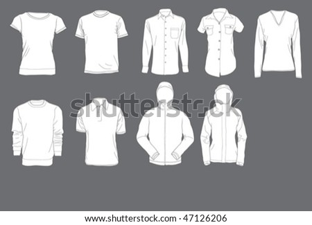 shirts template