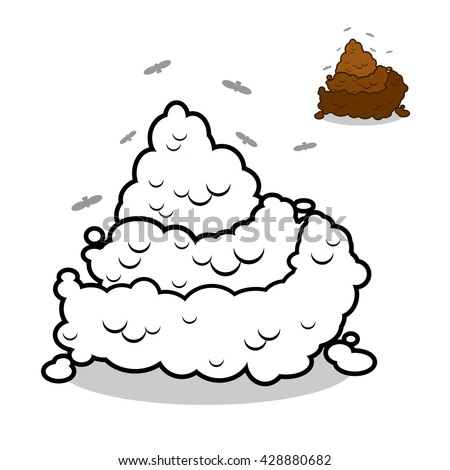 poop coloring pages - turd stock photos images pictures shutterstock