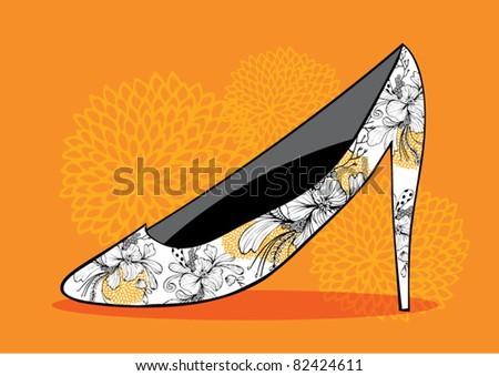 shoe vector/illustration - stock vector