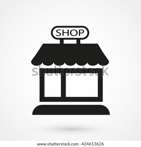 Shop icon, Shop icon eps10, Shop icon vector, Shop icon eps, Shop icon jpg, Shop icon picture, Shop icon flat, Shop icon app, Shop icon web, Shop icon art, Shop icon, Shop icon object, Shop icon image - stock vector