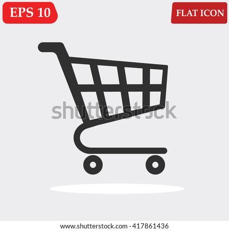 Shop vector icon  - stock vector