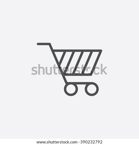 shopping cart Icon, shopping cart Icon Vector, shopping cart Icon Art, shopping cart Icon eps, shopping cart Icon Image, shopping cart Icon logo, shopping cart Icon Sign, shopping cart icon Flat - stock vector