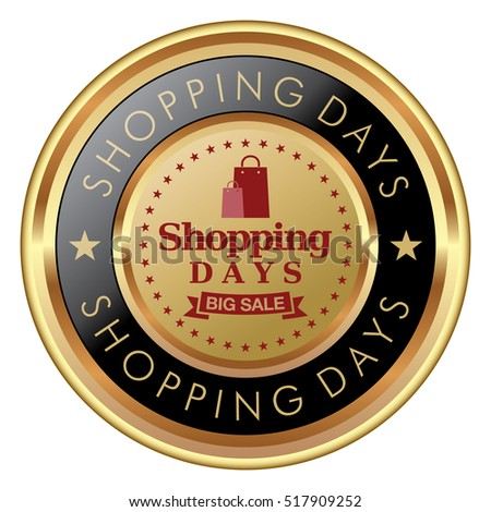 Shopping Days badge