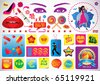Shopping Graphics - stock vector