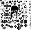 Shopping icons.Vector EPS8 - stock vector