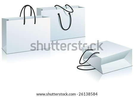 Shopping package. - stock vector