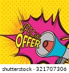 Shopping special offers design, vector illustration eps 10. - stock vector