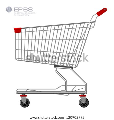 Full Grocery Cart Coloring Page Shopping supermarket cart Grocery Cart Coloring Page