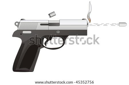 Shot - stock vector