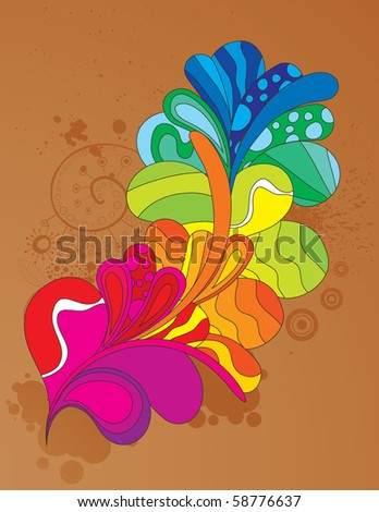 Shouting element to attract attention to your design. Easy editable. Vector illustration. - stock vector