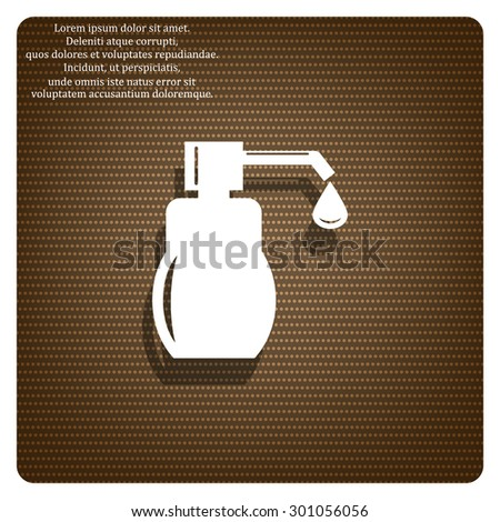 Shower Gel, Liquid Soap, Lotion, Cream, Shampoo, Bath Foam. icon. vector design