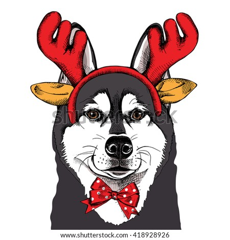Deer Antler Christmas Decorations