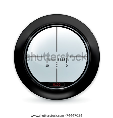 Sight, 10eps - stock vector