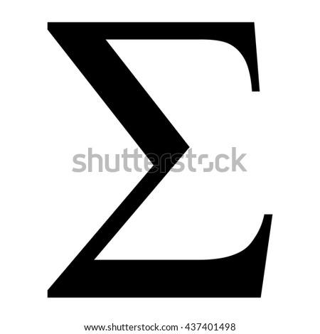Sigma Greek Letter Mersnoforum