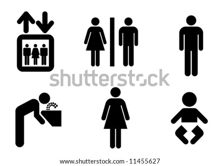 sign - stock vector