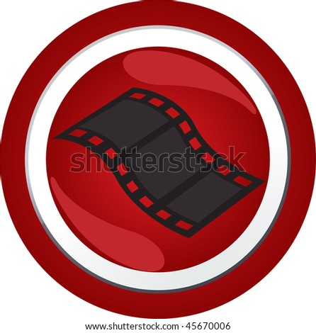 sign icon button - stock vector