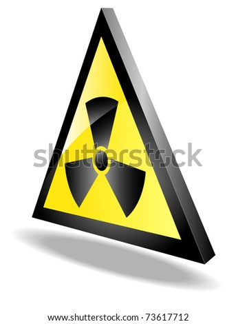 sign of radiation threat