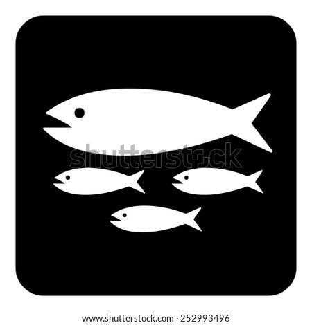 Sign sets - Fishes - stock vector