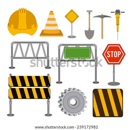 Signs design over white background,vector illustration.