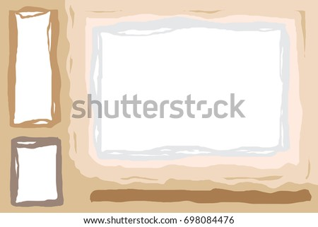 signs stone background vector