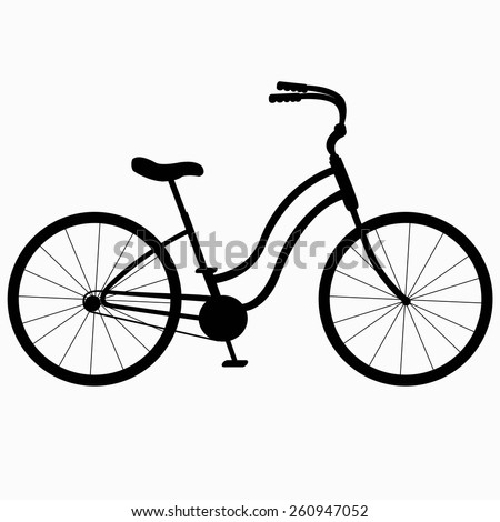 silhouette Bicycle