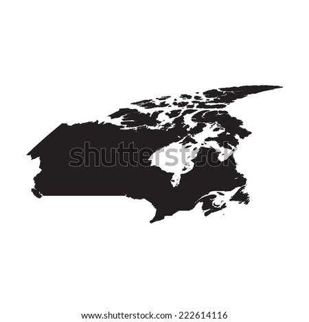 Silhouette of the Country Finland