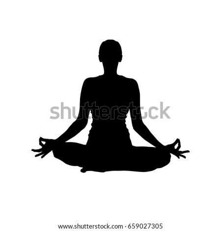 silhouette yoga vector stock photo photo vector illustration rh shutterstock com yoga victoria park yoga victoria hall tring