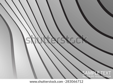 Silver abstract vector background illustration - Metal vector abstract background design  template - stock vector