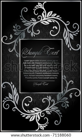 silver background for design