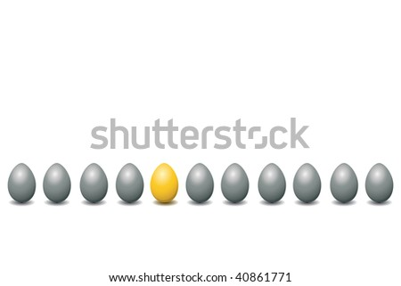 silver eggs and the one gold