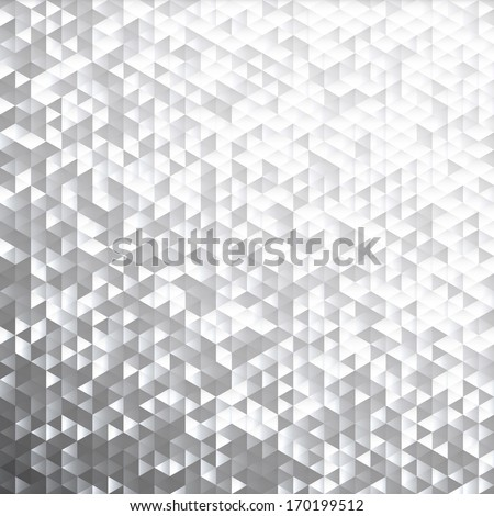 Silver gray blinking glitter background.Glittering sequins mosaic pattern. - stock vector